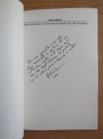 Anticariat: Dan Balan - Mitul romanesc si universal in teatrul liric din Romania (cu autograful autorului)