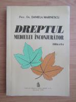 Anticariat: Daniela Marinescu - Dreptul mediului inconjurator