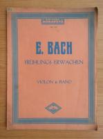 Anticariat: E. Bach. Fruhlings erwachen (1904)