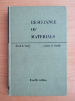 Anticariat: Fred B. Seely - Resistance of materials
