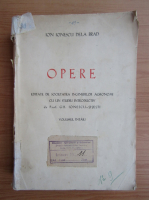 Anticariat: Ion Ionescu de la Brad - Opere (volumul 1, 1943)