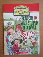 Anticariat: Marcia Thornton - Reindeer do wear striped underwear