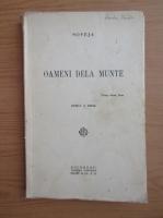 Anticariat: Maria Soveja - Oameni dela munte (1921)