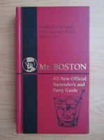 Mr. Boston. Official Bartender's and Party Guide
