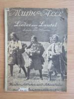 Anticariat: Musik fur Alle. Lieder zur Laute (1914)