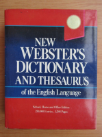New Webster's Dictionary and Thesaurus of the English Language