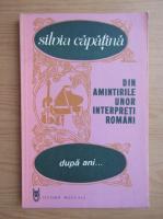 Silvia Capatina - Dupa ani...