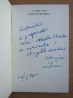 Anticariat: Arcadie Donos - Cetatile de roua (cu autograful si dedicatia autorului)