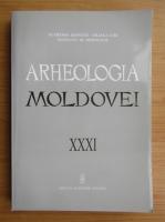 Anticariat: Arheologia Moldovei, volumul 31, 2009