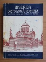 Biserica Ortodoxa Romana, anul LXXVII, nr. 7-10, iulie-octombrie 1959