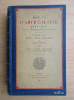 Anticariat: Camille Enlart - Manuel d'archeologie francaise (volumul 2, 1929)