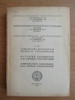 Comunicari stiintifice, sectia II, Stratigrafie, volumul 3, partea I, 1963