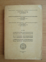 Comunicari stiintifice, sectia II, Stratigrafie, volumul 3, partea II, 1963