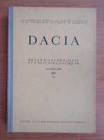 Anticariat: Dacia. Revue d'archeologie et d'histoire ancienne (volumul 19)