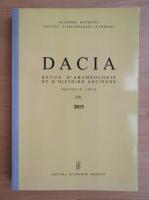 Anticariat: Dacia. Revue d'archeologie et d'histoire ancienne (volumul 59)