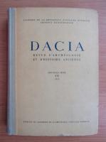 Anticariat: Dacia. Revue d'archeologie et d'histoire ancienne (volumul 7)