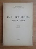 Dari de seama ale sedintelor (volumul 45)