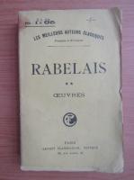 Francois Rabelais - Les cinq livres (volumul 2, 1918)