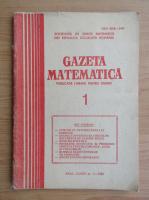 Anticariat: Gazeta matematica, anul LXXXV, nr. 1, 1980
