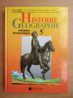 Anticariat: Histoire geographie, 5e. Initiation economique