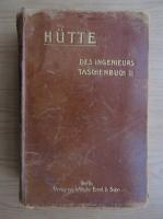 Anticariat: Hutte des Ingenieurs Taschenbuch (volumul 2, 1911)