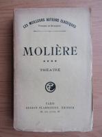 Moliere - Theatre (volumul 4, 1922)