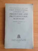 Proceedings of the first international congress of prehistoric and protohistoric sciences (1934)