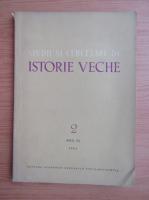 Anticariat: Studii si cercetari de istorie veche, anul XV, nr. 2, 1964