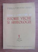 Anticariat: Studii si cercetari de istorie veche si arheologie, tomul 30, nr. 1, ianuarie-martie 1979