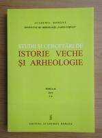 Anticariat: Studii si cercetari de istorie veche si arheologie, tomul 66, nr. 3-4, 2015