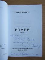 Anticariat: Viorel Dinescu - Etape (cu autograful autorului)