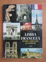 Anticariat: Angela Savin - Limba franceza pentru absolvire si admitere