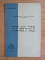 Anticariat: Incercarea pe viu a protectiei retelei electrice de distributie de 30000 volti din Bucuresti (1942)
