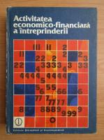 Anticariat: Ion Bucur - Activitatea economico-financiara a intreprinderii