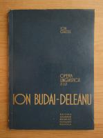 Anticariat: Ion Ghetie - Opera lui lingvistica a lui Ion Budai-Deleanu