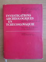 Anticariat: Jan Filip - Investigations archeologiques en Tchecoslovaquie