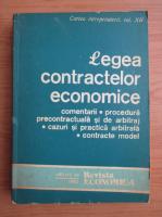 Anticariat: Legea contractelor economice