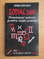 Anticariat: Maria Pancescu - Zodiac 2000