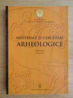 Materiale si cercetari arheologice, volumul 14, 2018