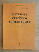 Materiale si cercetari arheologice, volumul 5, 2009