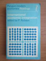 P. Robson - International economic integration
