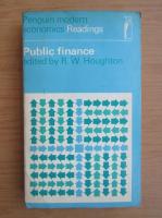 Anticariat: R. W. Houghton - Public finance