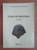 Anticariat: Studii de preistorie, nr. 12, 2015