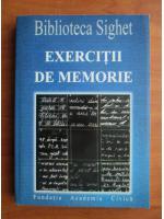 Anticariat: Biblioteca Sighet. Exercitii de memorie