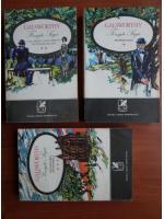 Anticariat: John Galsworthy - Forsyte Saga (3 volume)