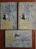 Anticariat: Nicolae Iorga - O viata de om asa cum a fost (3 volume)