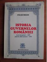Anticariat: Stelian Neagoe - Istoria guvernelor Romaniei de la inceputuri 1859 pana in zilele noastre 1995
