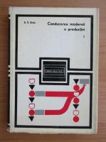 Anticariat: E. S. Buffa - Conducerea moderna a productiei (volumul 1)
