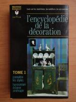 L'enciclopedie de la decoration (volumul 1)
