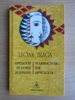 Anticariat: Lucian Blaga - Antologie de poezie populara (editie bilingva)